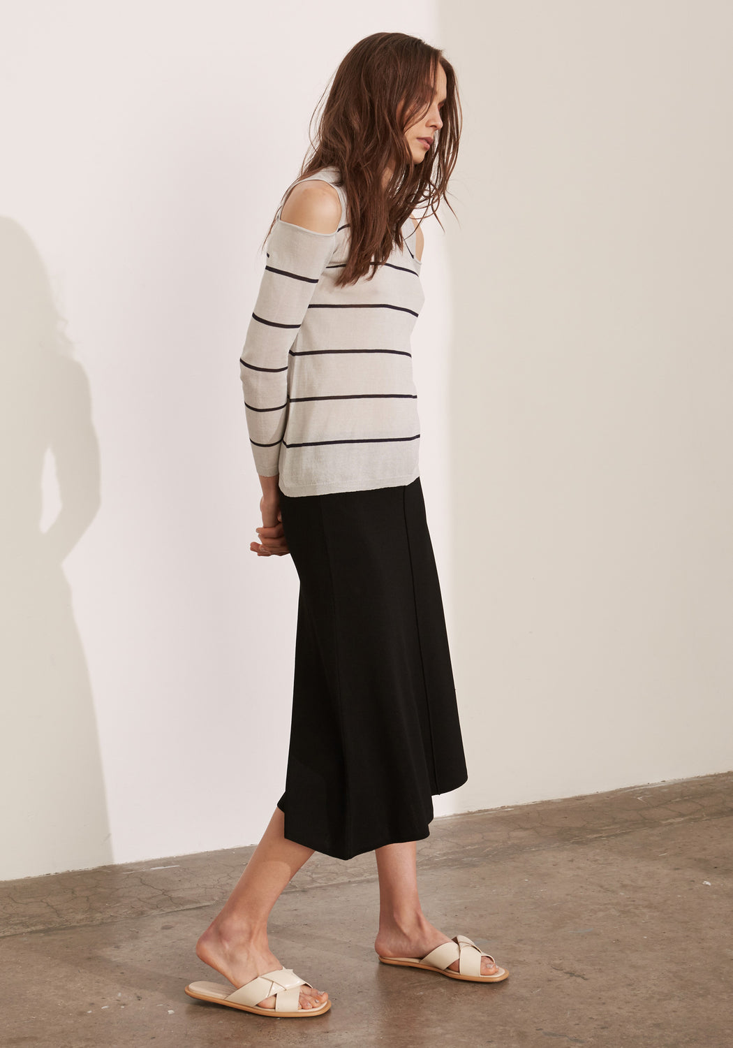 Hana Cold Shoulder Knit