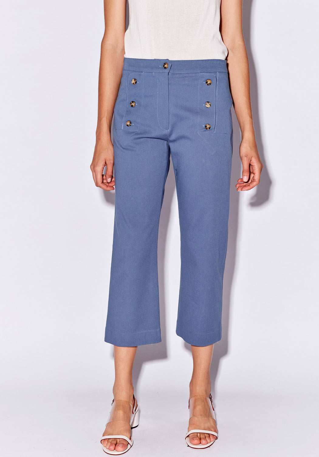 Bower Button Pant