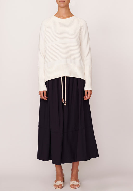 Aerial Ribbed Knit