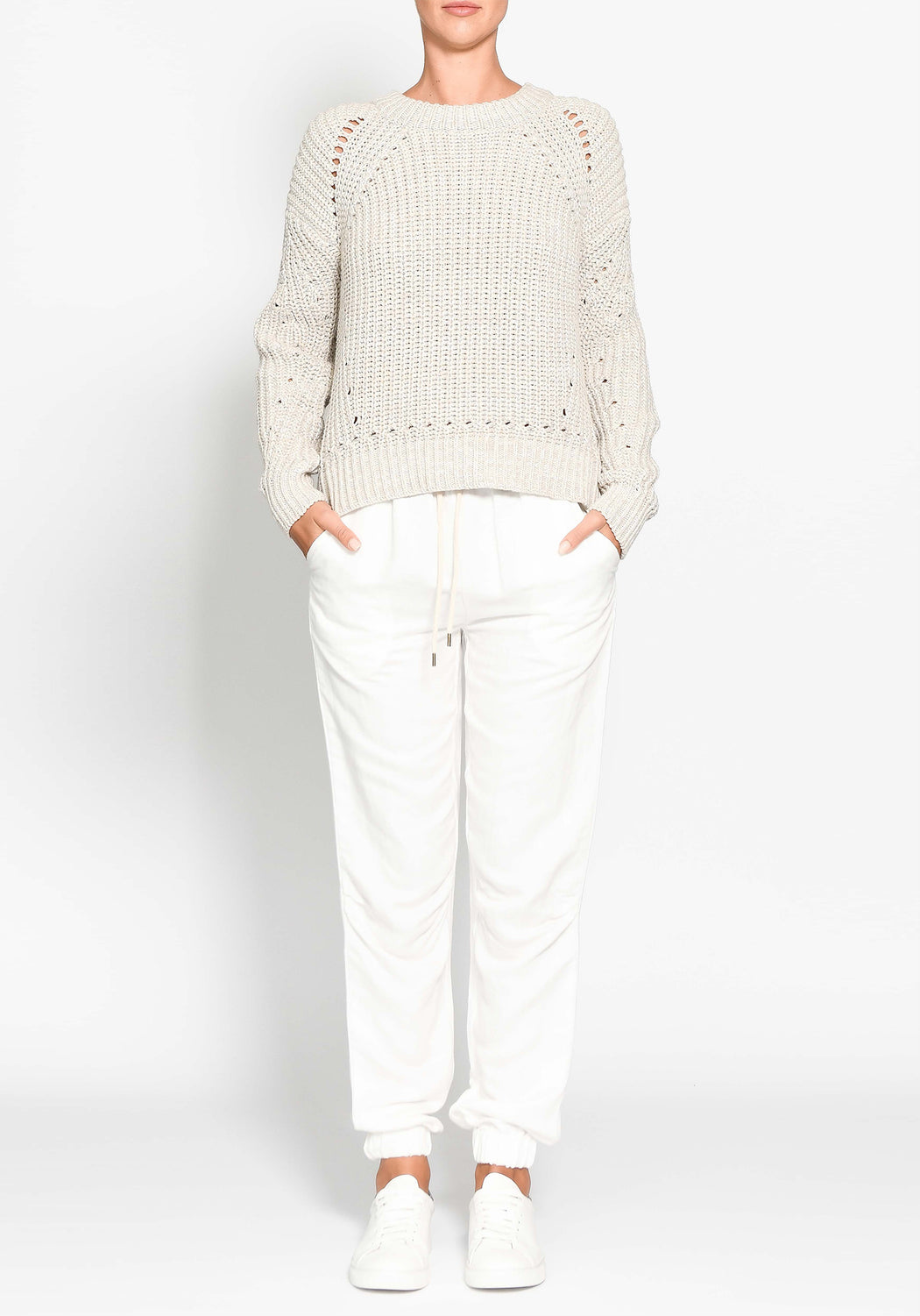 Aerial Speckle Knit