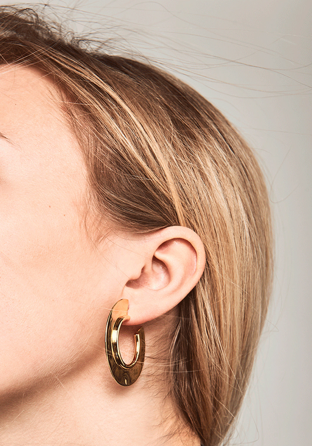 Ninette Gold Hoop Earrings