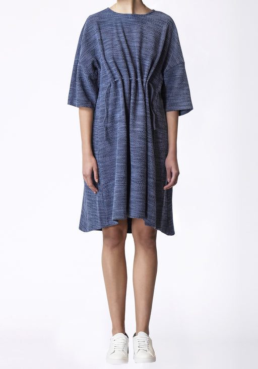 Mica Tie Tunic Dress