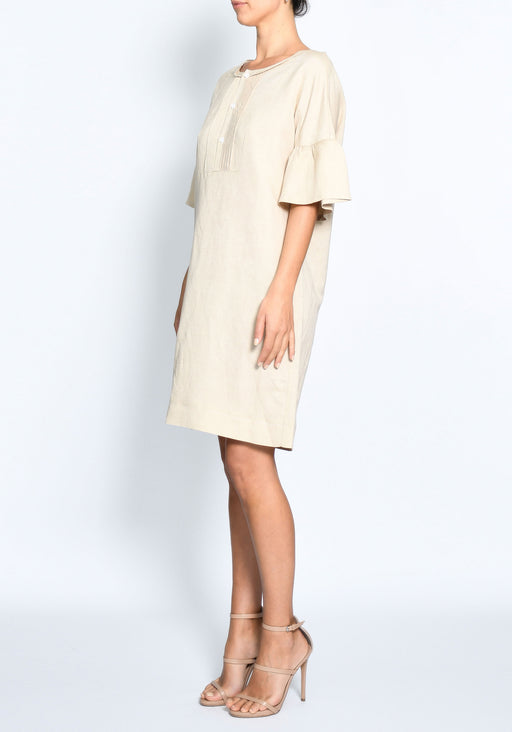 Terra Topstitch Tunic Dress