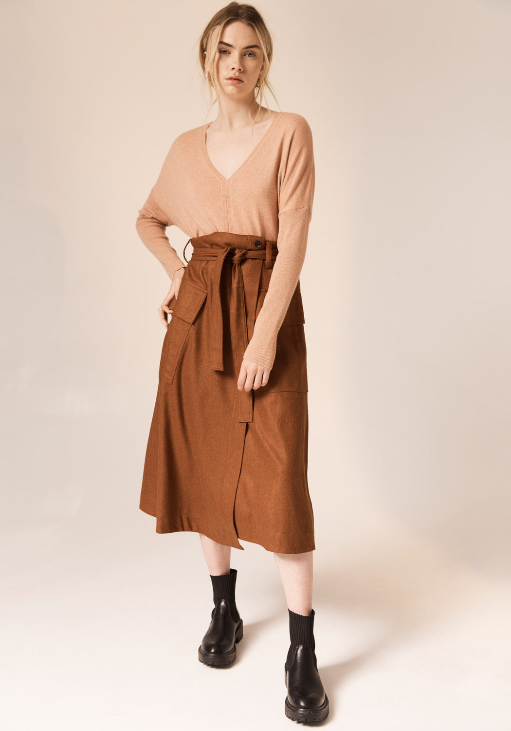 Suffolk Wrap Skirt