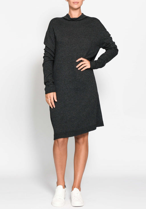 Shift Turtleneck Dress