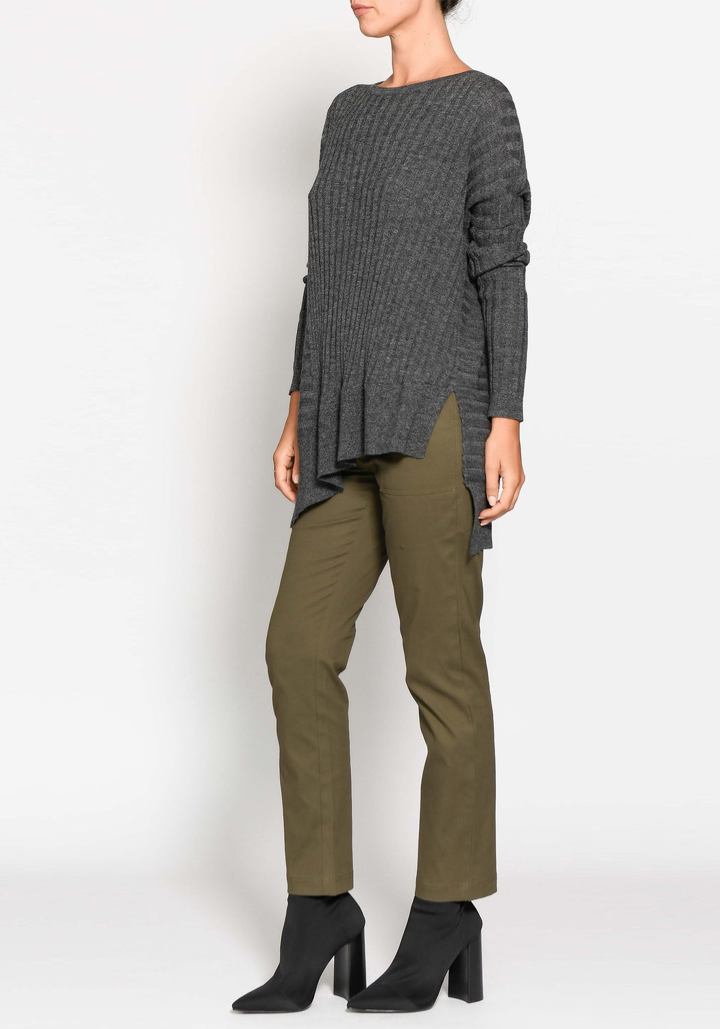 Scope Panelled Knit