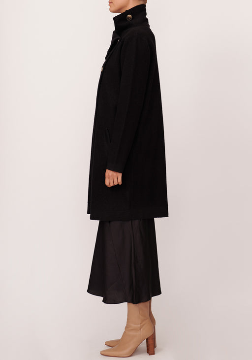 River Draped Coat