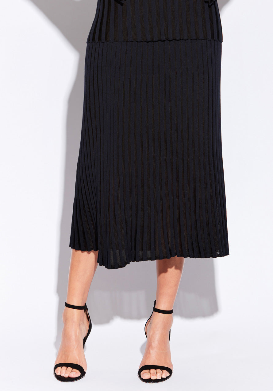 Atrium Pleat Skirt