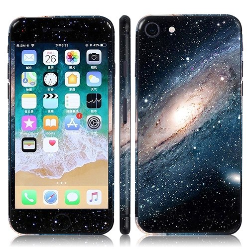 Free Drop Shipping beutiful price and High quality Vinyl Skin Sticker  Protector for Iphone 8