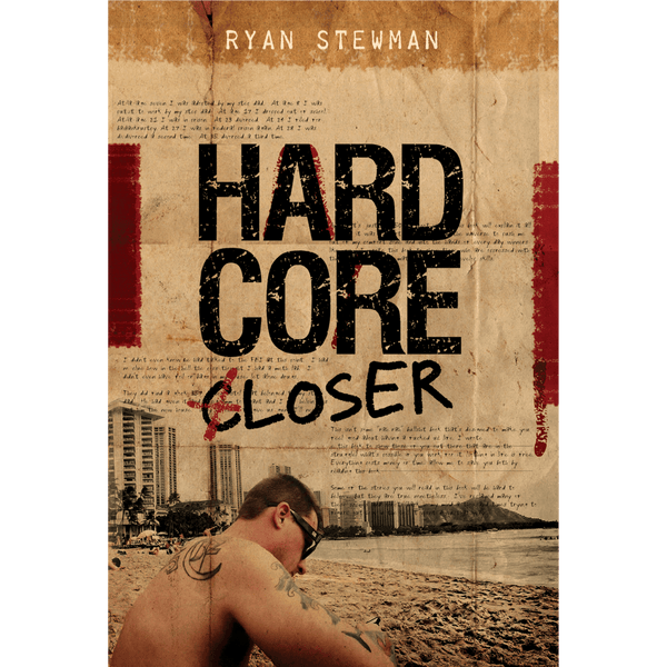 Hardcore Closer; Ryan Stewman (Front Cover)