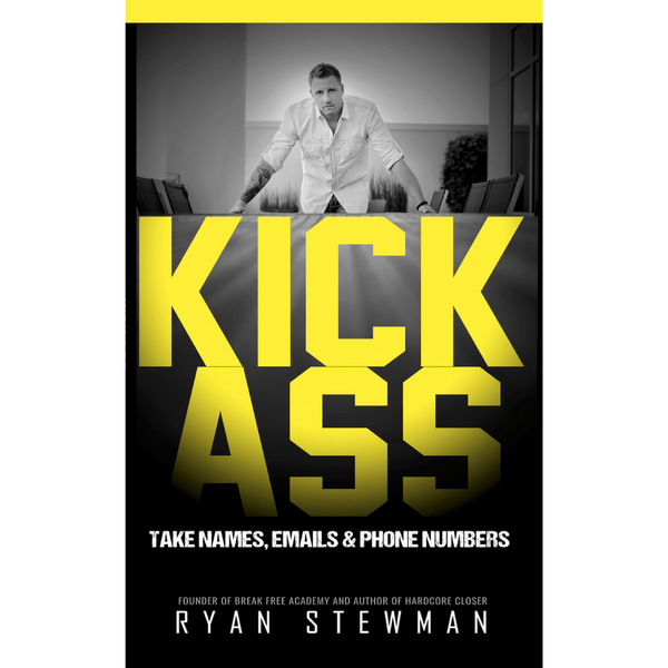 Kick Ass; Ryan Stewman (Front Cover)