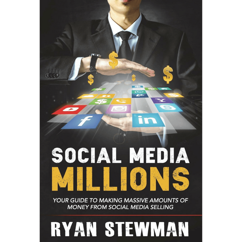 Social Media Millions; Ryan Stewman (Front Cover)