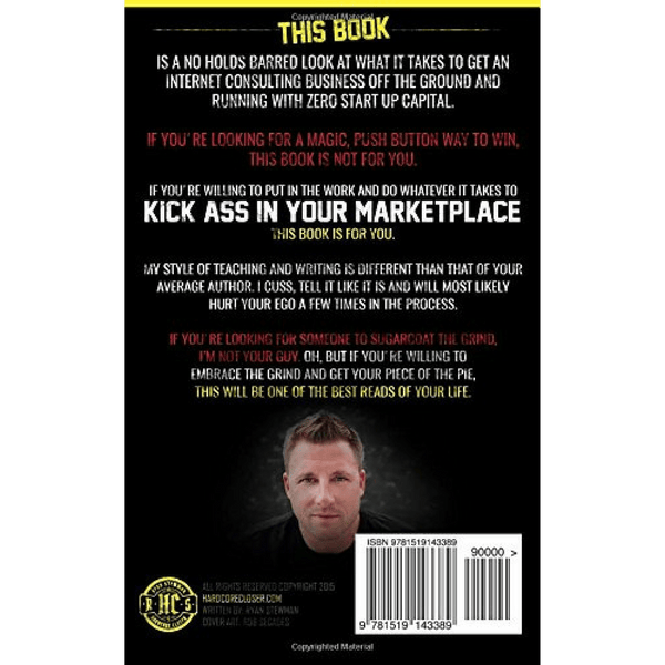 Kick Ass; Ryan Stewman (Back Cover)