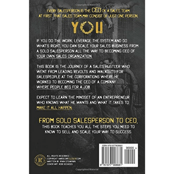 Sell It And Scale It; Ryan Stewman (Back Cover)
