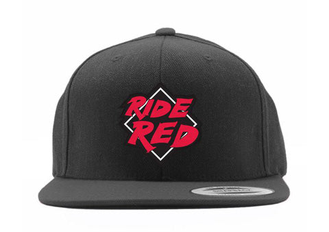 2fc7a92e7c19a FACTORY EFFEX HONDA RIDE RED YOUTH SNAPBACK HAT   BLACK OS