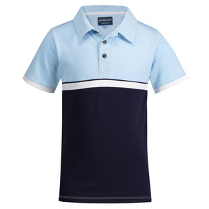 Color Blocked Polo