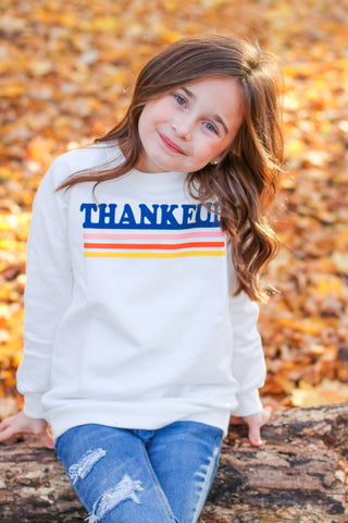 Thankful Raglan Sweatshirt