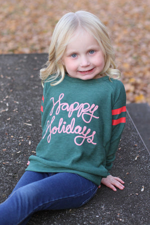 Happy Holidays Pullover