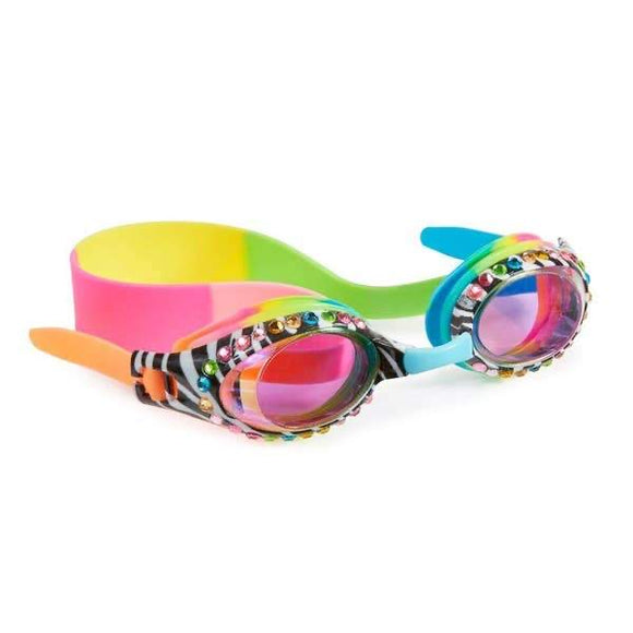 Zebra Crossing Goggles - Rainbow