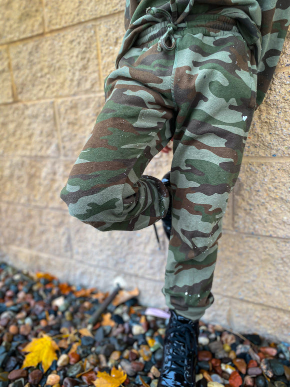 Heart Camo Millie Sweats