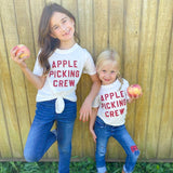 Apple Picking Crew Tee