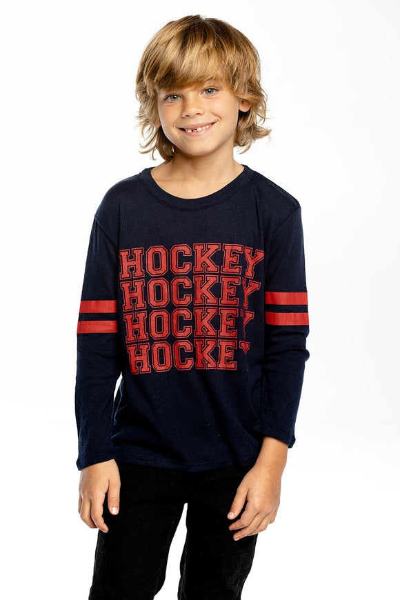 Hockey Stacked long sleeve