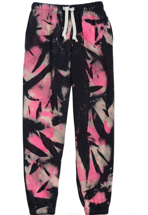 Cat Tie Dye Sweatpants