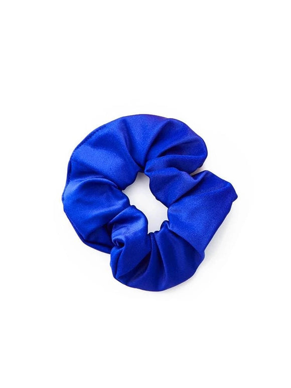 Polished Scrunchie in Royal Blue
