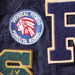 Giacca Patches