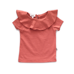 T-shirt Colletto Ruggine
