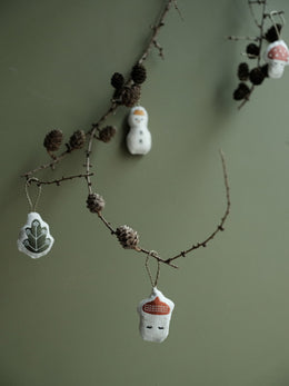 Ornaments Hanging Forest