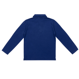 Polo Kid Blue Cobalt
