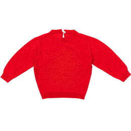 Crew-neck Red sweater