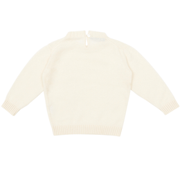 Crew-neck sweater Cream