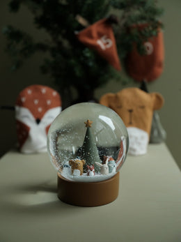 Snow Globe Woodland Animal Christmas