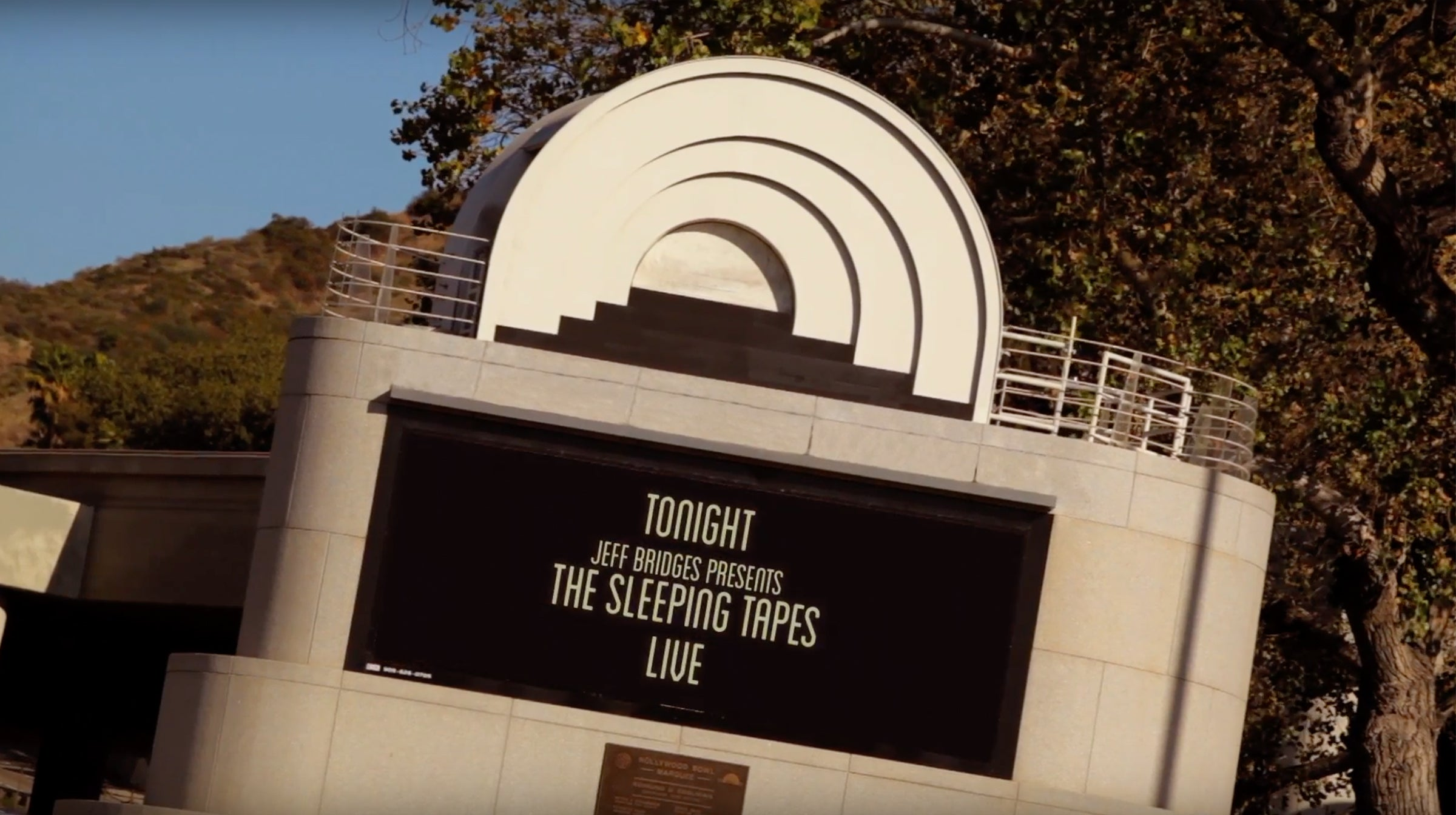 Hollywood Bowl Banner