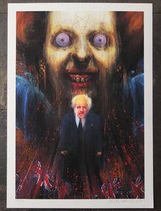Thatcher Boris, Hell - Wefail Painting