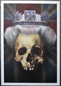 Queen Skull Painting - Wefail Portrait