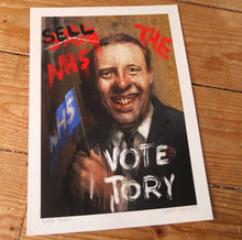 Load image into Gallery viewer, Vote Tory - Open Ed A4