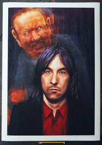 The Portrait of Bobby Gillespie  - Ltd Edition A2