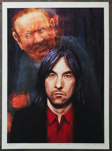 Bobby Gillespie Andrew Neil painting this week