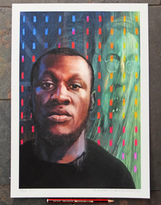 The Portrait of Big Mike - Ltd Ed A3
