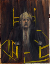 Load image into Gallery viewer, Pope Boris - Oil on Paper