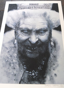 Study of the Queen - Ltd Ed A3