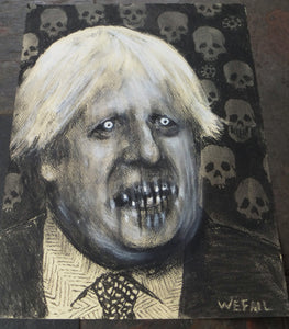 Study of Boris. Charcoal and Pastel on Paper - A3
