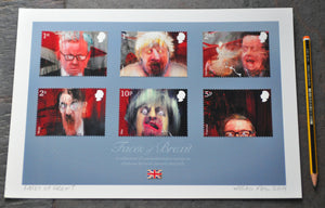Faces Of Brexit - Open Ed A4