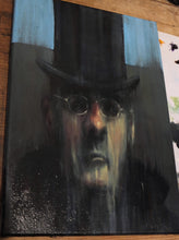 Load image into Gallery viewer, Oil Mogg - Oil on Canvas - A3