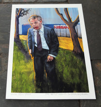 Load image into Gallery viewer, The Artist Leaving Sunderland - Ltd Ed A4