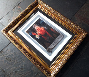 The Devil - A4 Artist's Proof - Framed
