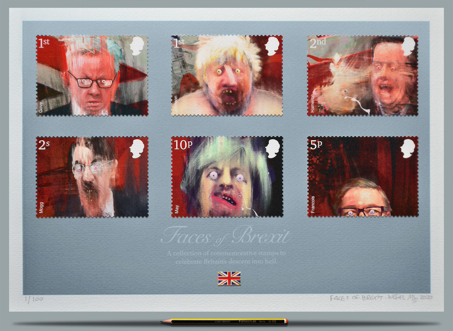 Faces of Brexit  - Ltd Edition A2
